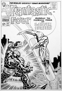 Fantastic Four Issue 55 Cover Re-Creation (Original)