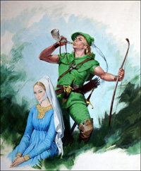 Maid Marian and Robin Hood (Original)