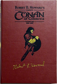 Complete Conan of Cimmeria  Volume 1 (1932 - 1933)  Leatherbound Ultra Signed Limited Edition (copy #1)