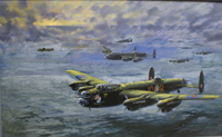 Avro Lancaster 'We Dood It Too' 1 (Original) (Signed)