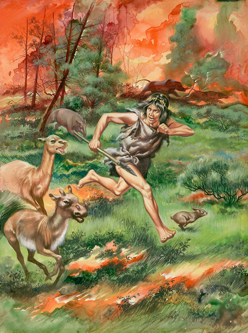 paleolithic age fire - photo #22