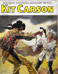 Kit Carson - Cowboy Picture Library #321 cover art (Original)