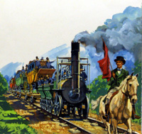 George Stephenson and the Stockton and Darlington Railway (Original)