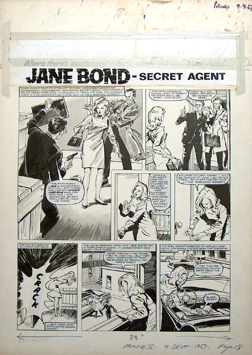 Jane Bond from Princess Tina