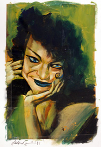 Face by Dave McKean