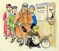 The Wind in the Willows: Toad at the Station (Original)