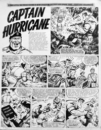 Captain Hurricane original from Valiant (Original)