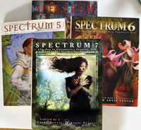 A Set of 4 Spectrum books: Volumes 1, 5, 6 and 7
