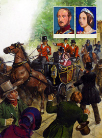 Queen Victoria and Assassin! by Clive Uptton